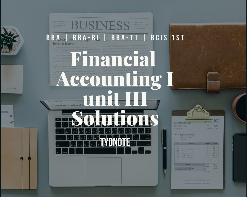 financial accounting 1 solution cash account journal entries
