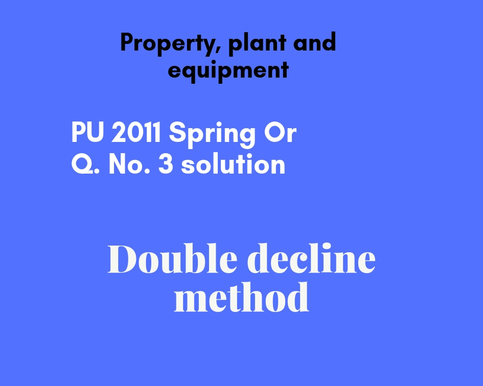 double decline method depreciation
