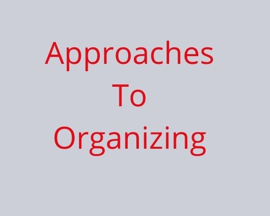 organizing approaches
