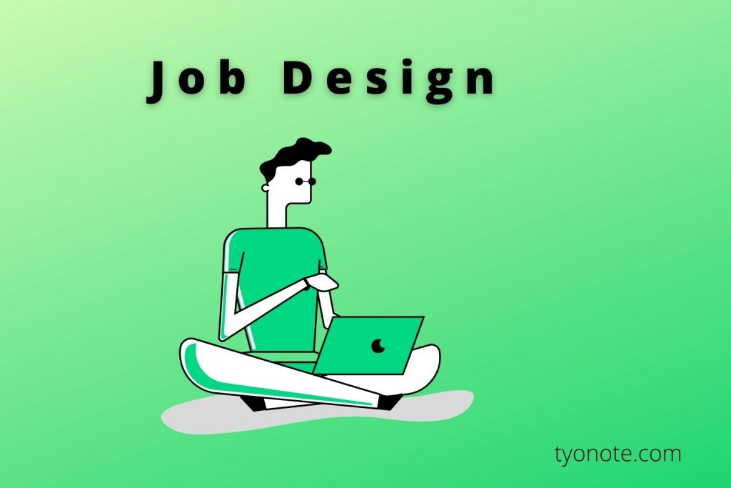 designing a job
