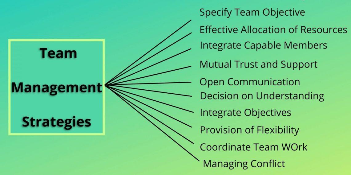 team management strategies