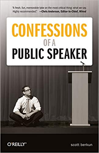 confessions of a public speaker one of public speaking books