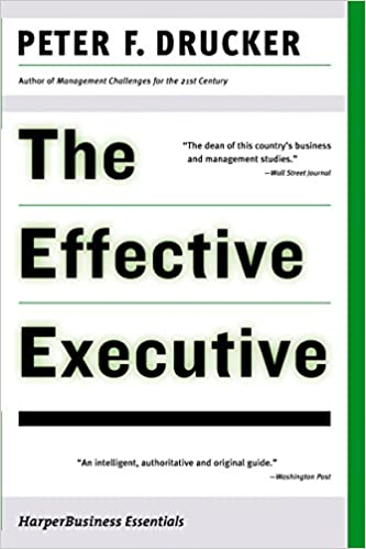 The Effective Executive one of business books