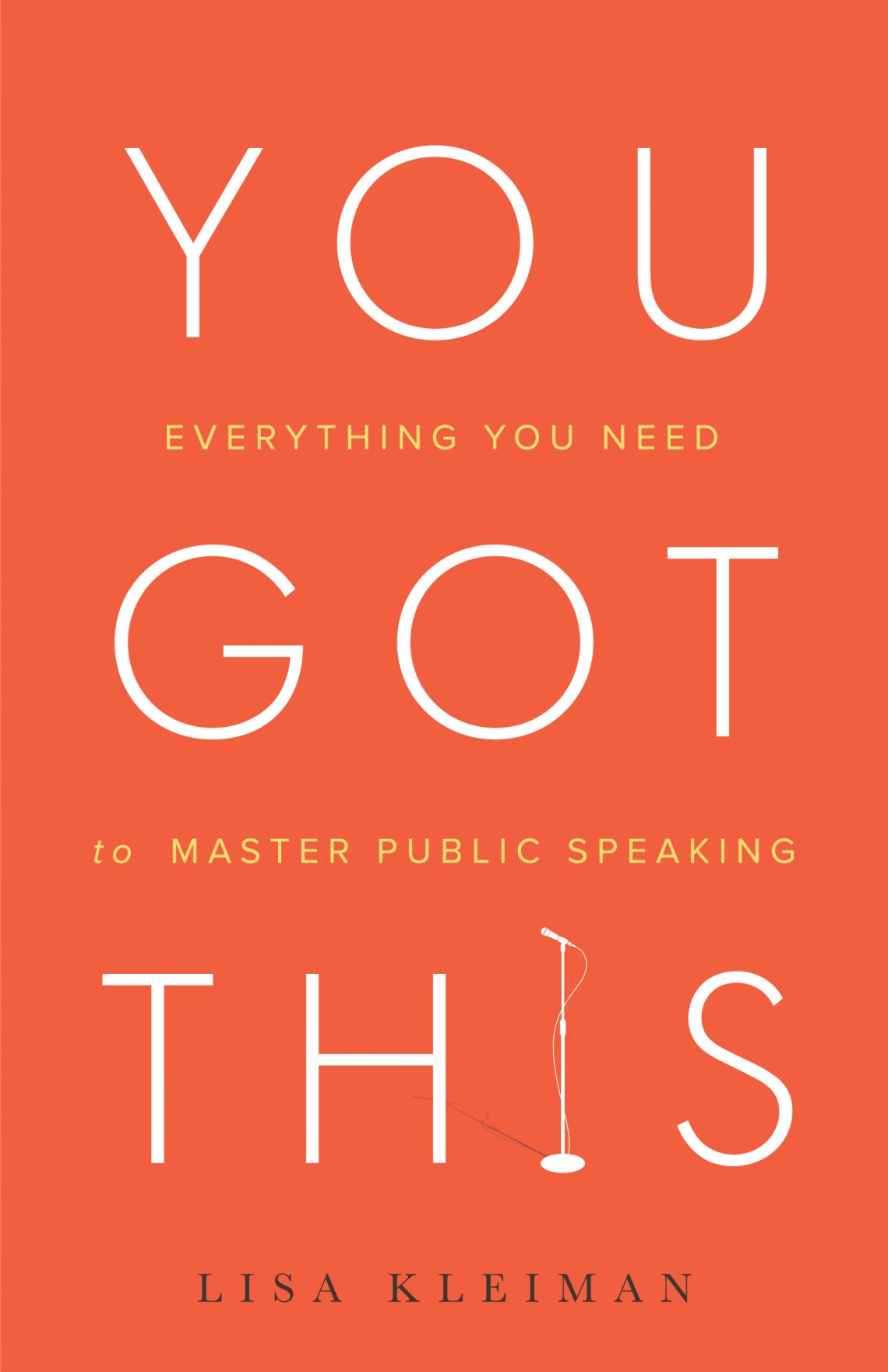 You got this one of best public speaking books