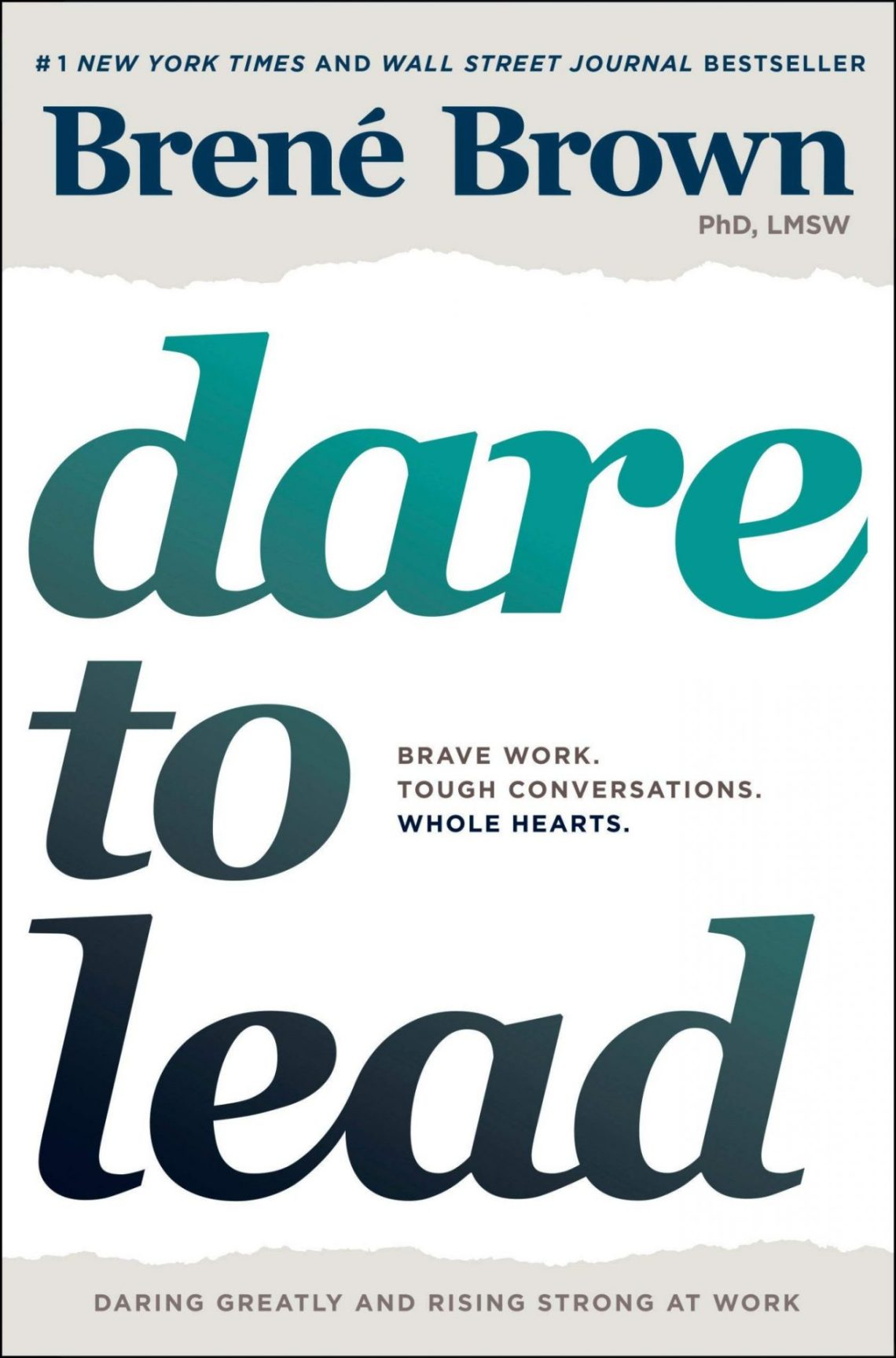 Dare to lead one of leadership books