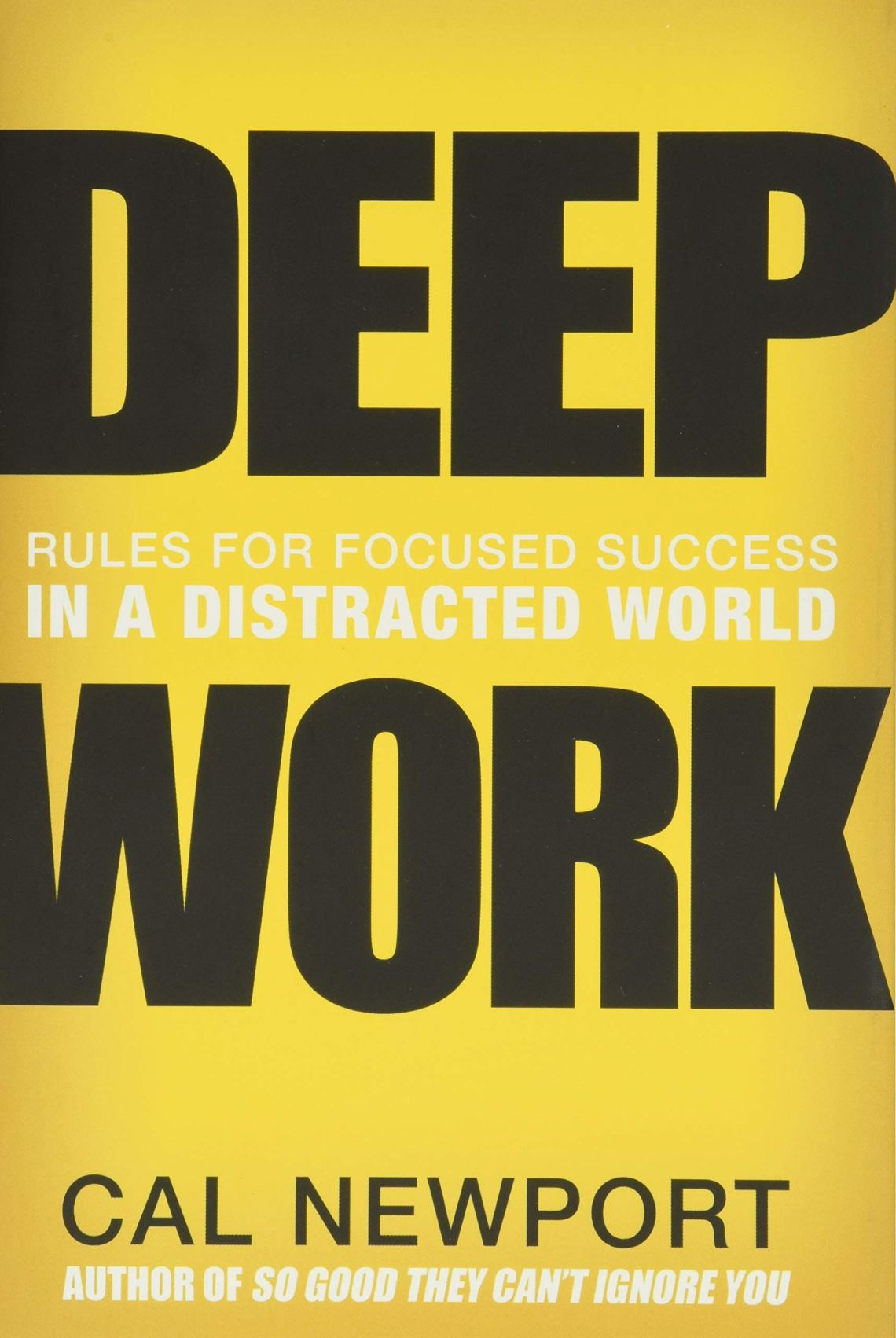 Deep work one of best business books