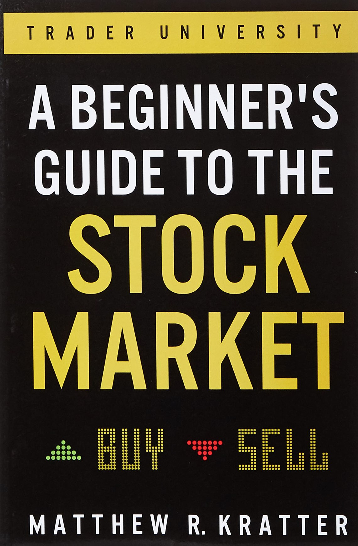 A Beginner's Guide to the Stock Market: one of investing books