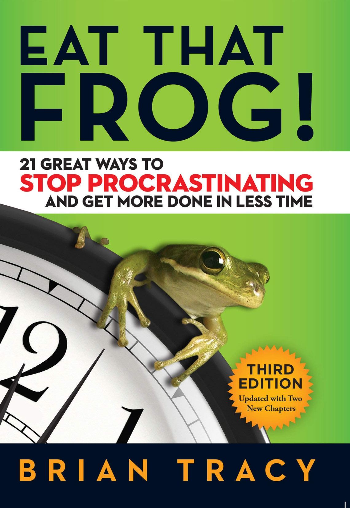 eat that frog one of self improvement books