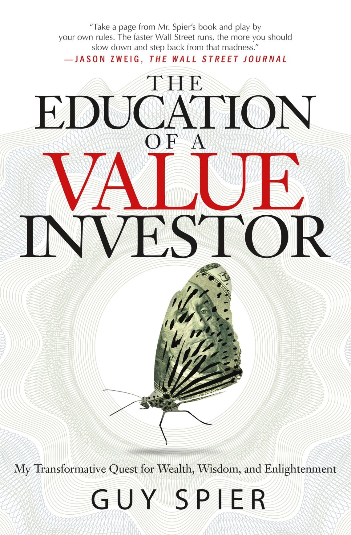 The Education of a Value Investor one of investing book