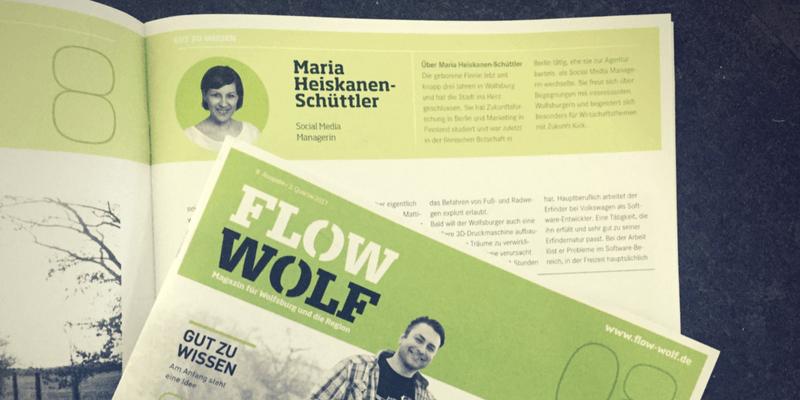 Flow Wolf työpaikka Sajksassa