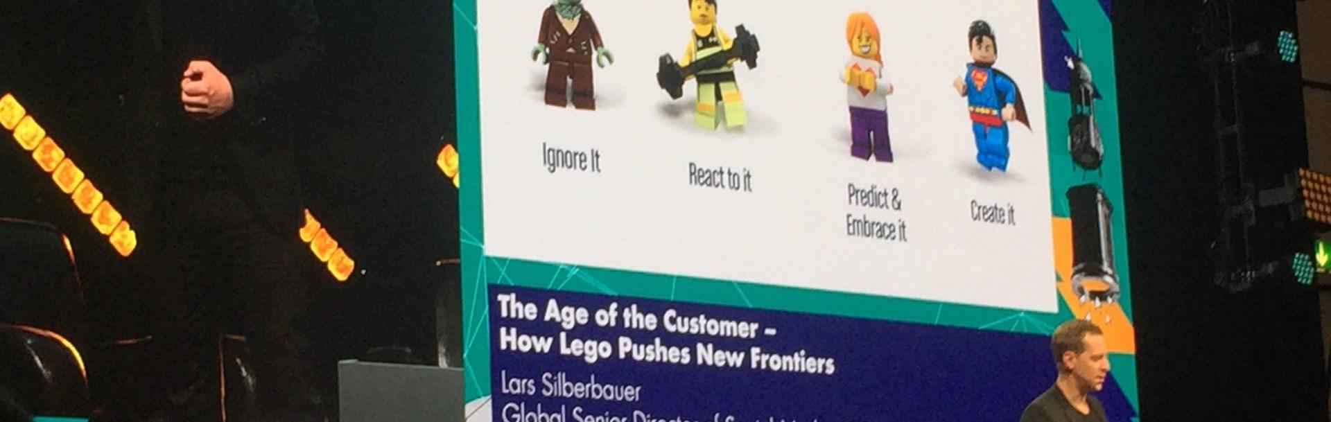 Lego social media