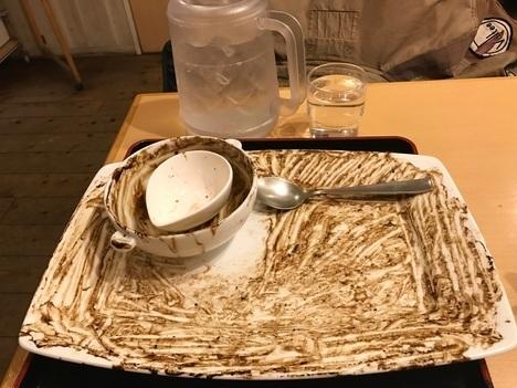 伊賀レストランito名物デカ盛りハヤシライス大盛り完食