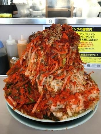 立川マシマシ足利ひーひー麺の限定餅裏面