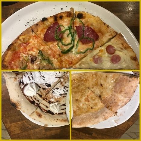 伊勢崎ナポリの食卓食べ放題ピザ3