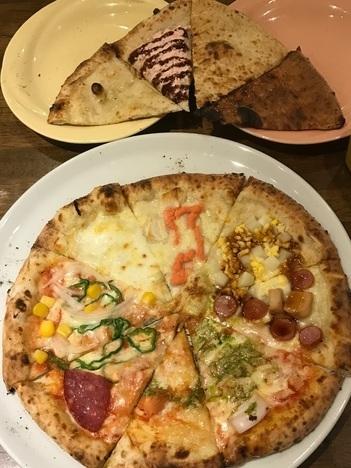 伊勢崎ナポリの食卓食べ放題ラストオーダー時の提供品