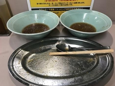 立川マシマシEXマシライスと大盛もやしダブル大食い完食