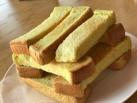 足利よこまちカフェカレーランチのパン