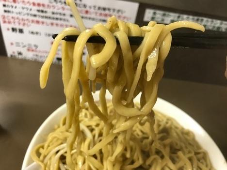 東松山ブタヤマニンニクン特大ラーメン麺リフトマシマシ麺リフト