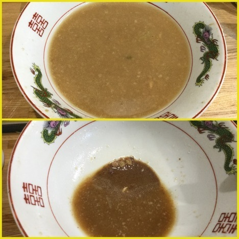 和光市デカ盛り戦隊豚レンジャーラーメン大残スープ