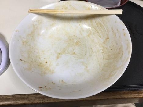 石田食堂利根川天丼特盛り完食