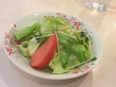 ステーキハウス赤坂ビーフシチューサラダ