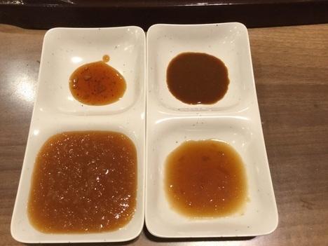 ステーキガスト新潟山木戸店食べ放題ソース類
