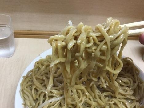 ラーメン二郎京成大久保大ラーメン麺リフト