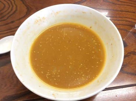 足利麺辛口味噌ラーメンスープ