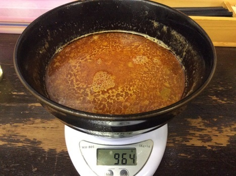 大勝軒激辛つけ麺スープ割