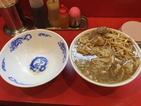 ドンキタモト別盛麺増し野菜トリプルつゆだく