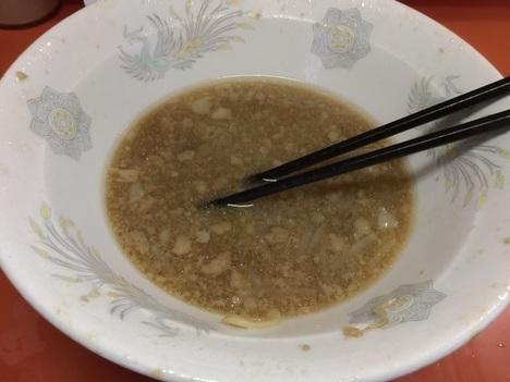ラーメン二郎神田神保町店大ラーメンスープ