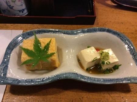太田たから海鮮丼の小鉢