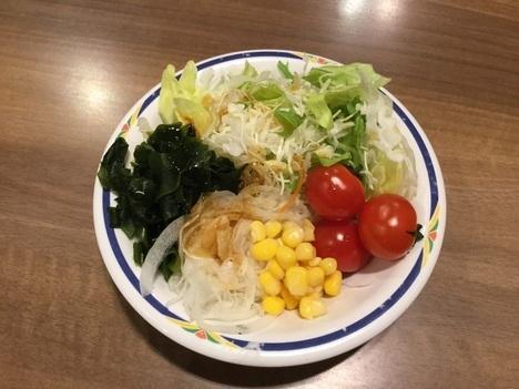 ステーキガスト新潟山木戸店食べ放題サラダバー