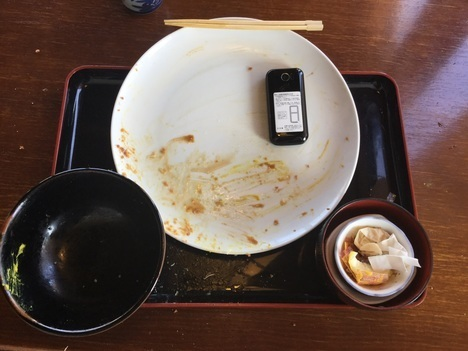 館林とんかつ勝作ダイナマイトロース定食完食