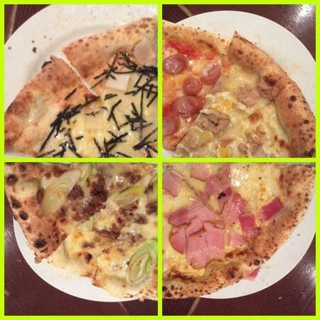 チッタ・グラーノ伊勢崎ピザバイキング集合ピザ
