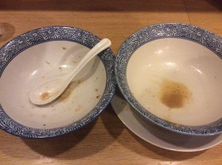 大間々つけ麺虎心虎二郎完食