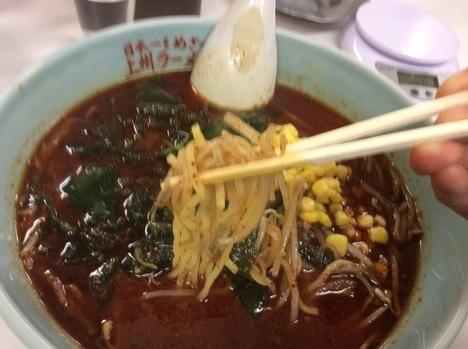 伊勢崎上州ラーメン雷ラーメン麺リフト