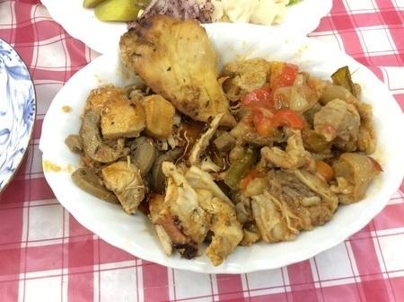 大泉トルコ料理バイキング一例