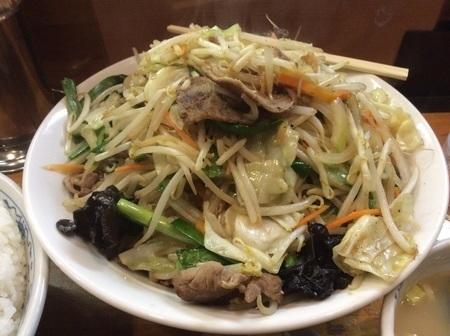 二代目蝦夷トリプル肉野菜炒め