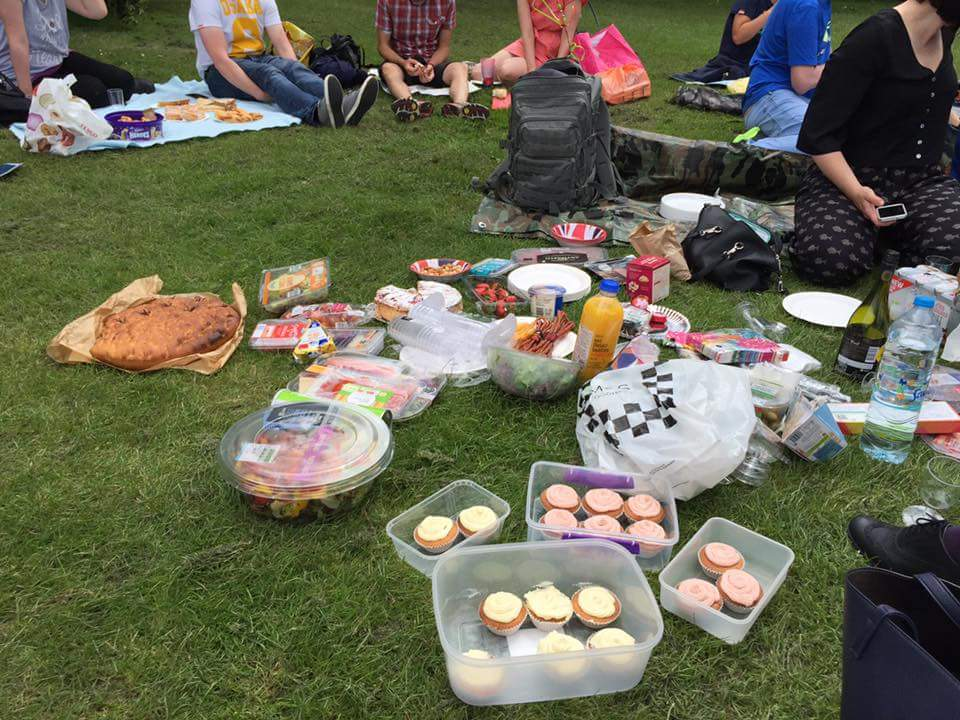 T1D Picnic in Hyde Park 10th September
