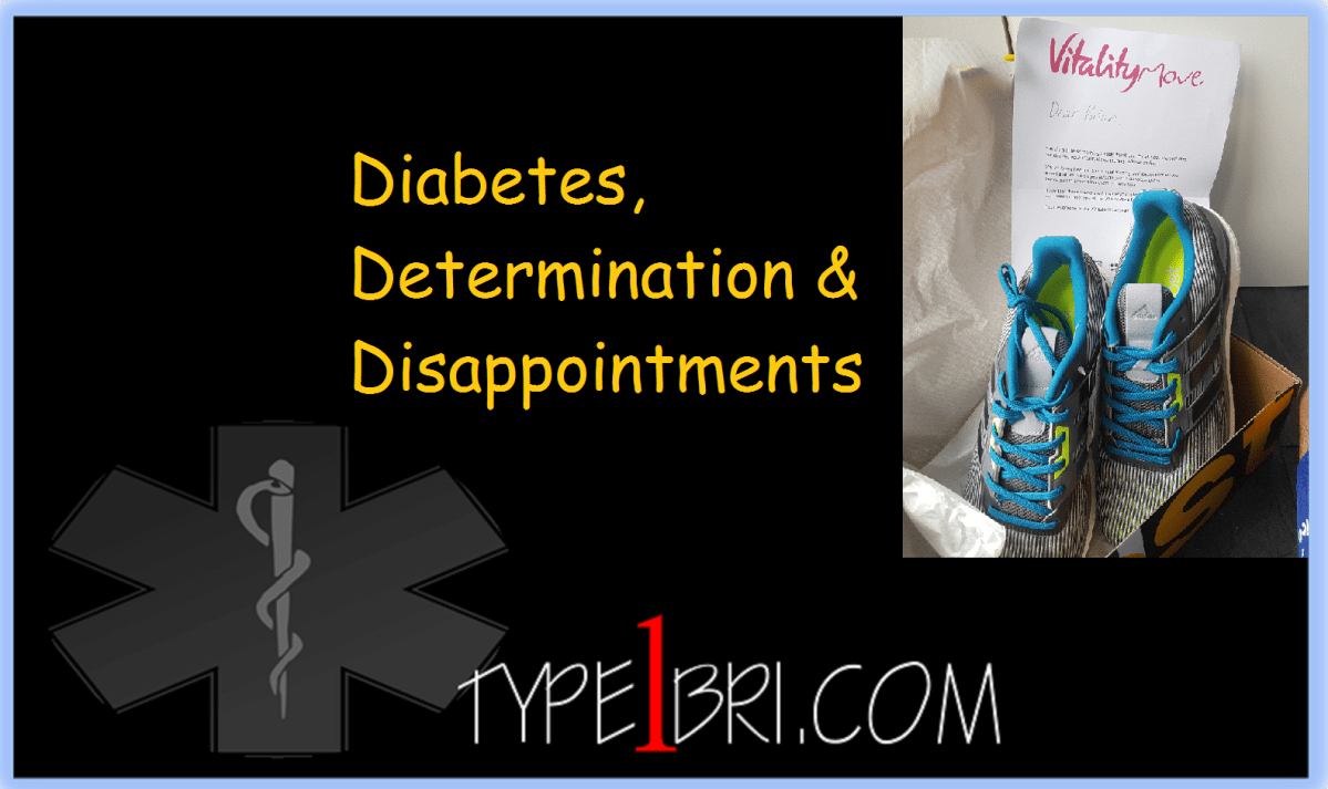 Diabetes, Determination & Disappointments