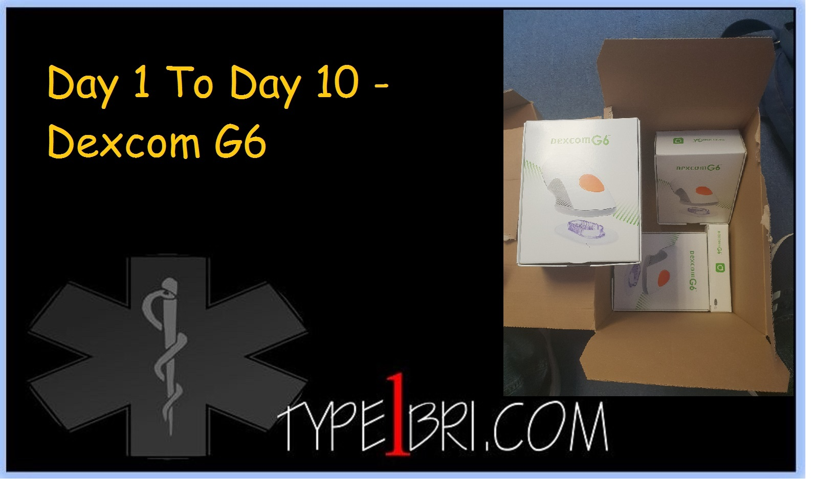 Day 1 To Day 10 On The Dexcom G6 - Type1Bri com - A Diabetic