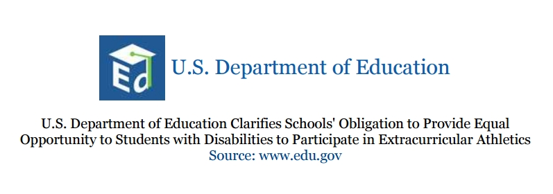 Dept. of Education Clarification of Extracurricular Activities