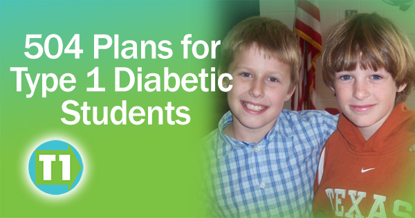 504 Plans for Students with Diabetes