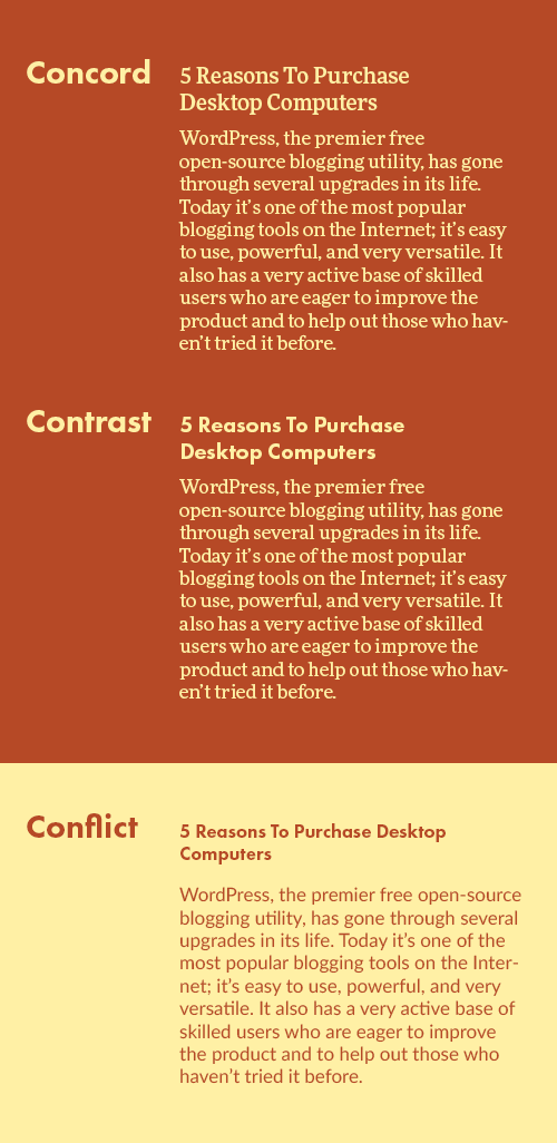 Typography tips: font pairing