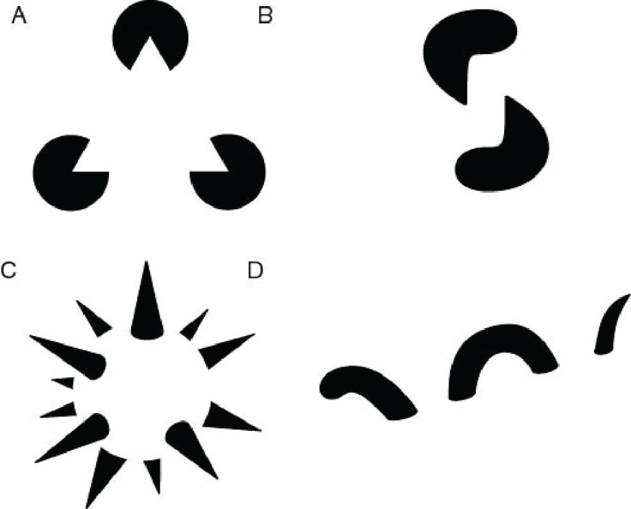 Gestalt principle of closure