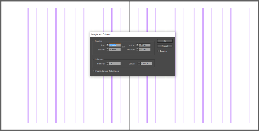 Typography Grid in InDesign