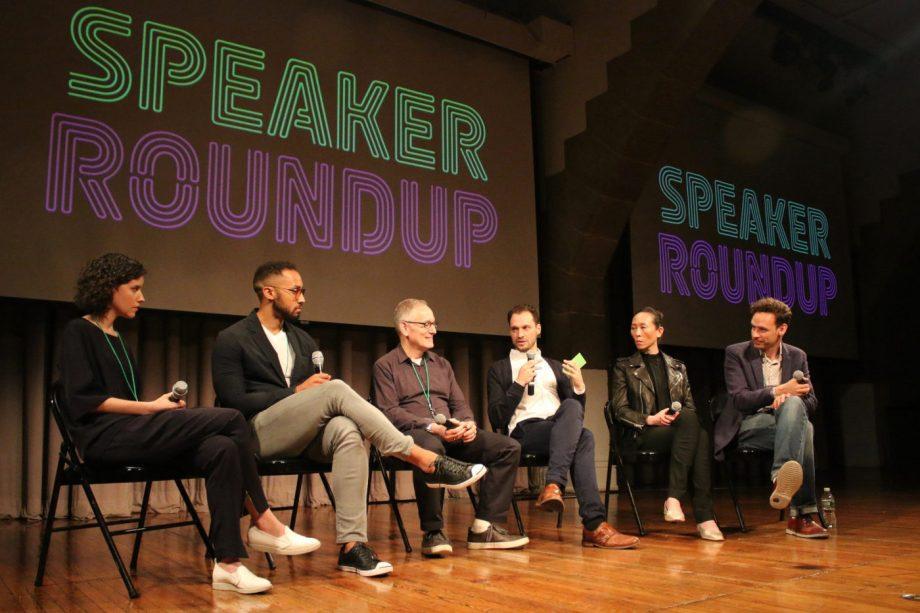 Typographics Speaker Panel