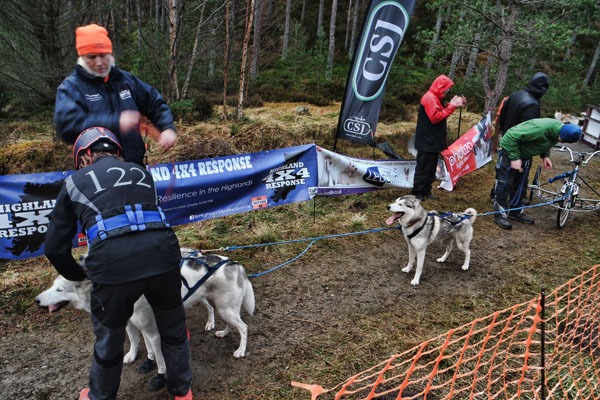 Aviemore Sled Dog Rally 2018