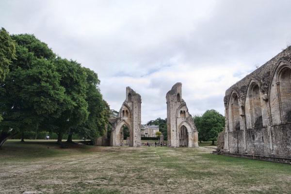 Glastonbury Abbey, Site of Arthur's Tomb